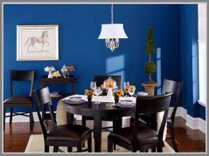 warna ruangan biru tua