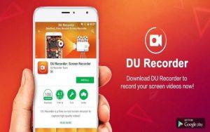 Aplikasi Du Screen Recorder